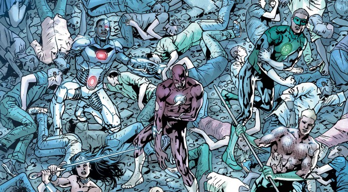 Justice League of America #8 Preview!