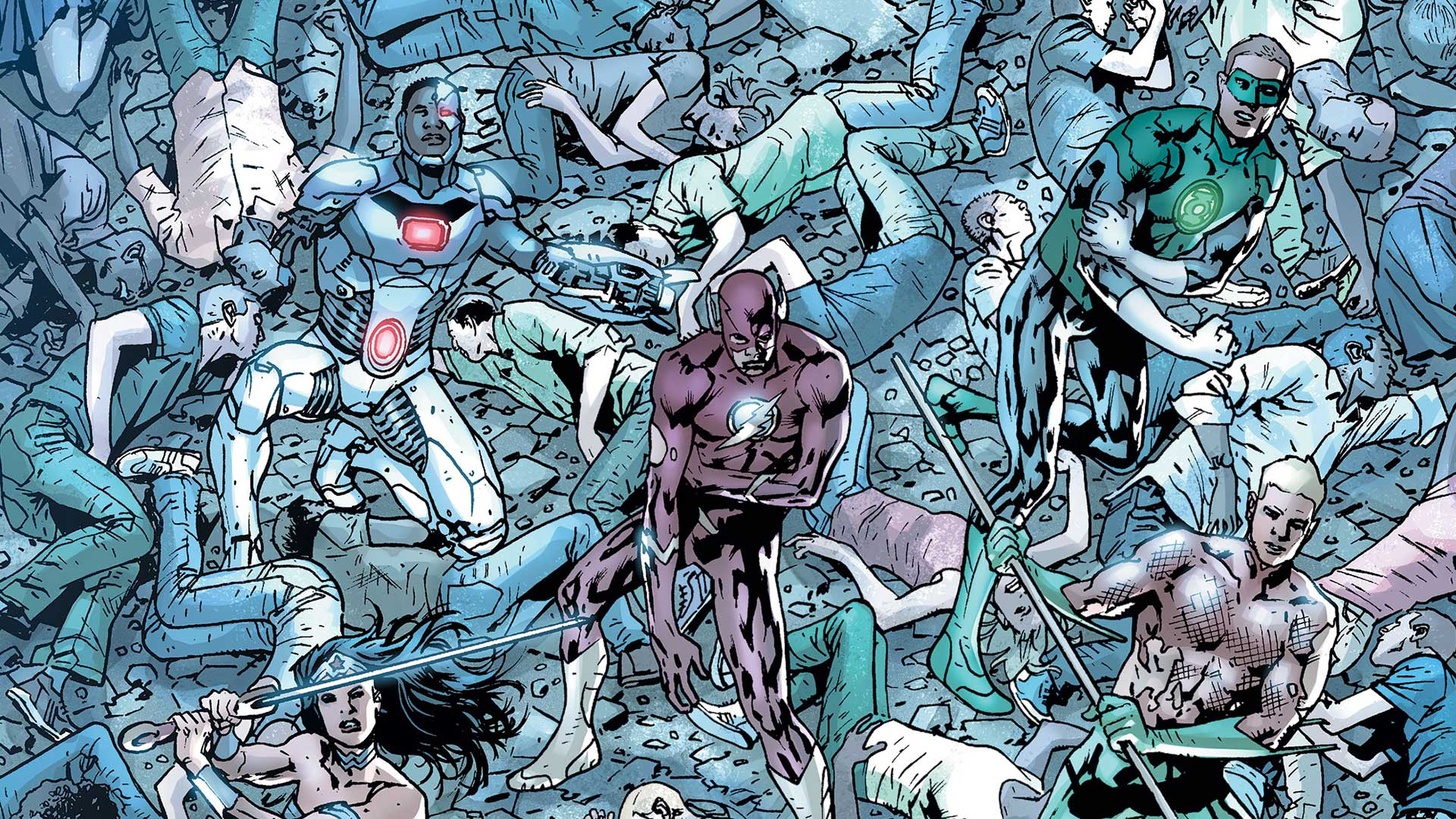 Justice League of America #8 Preview