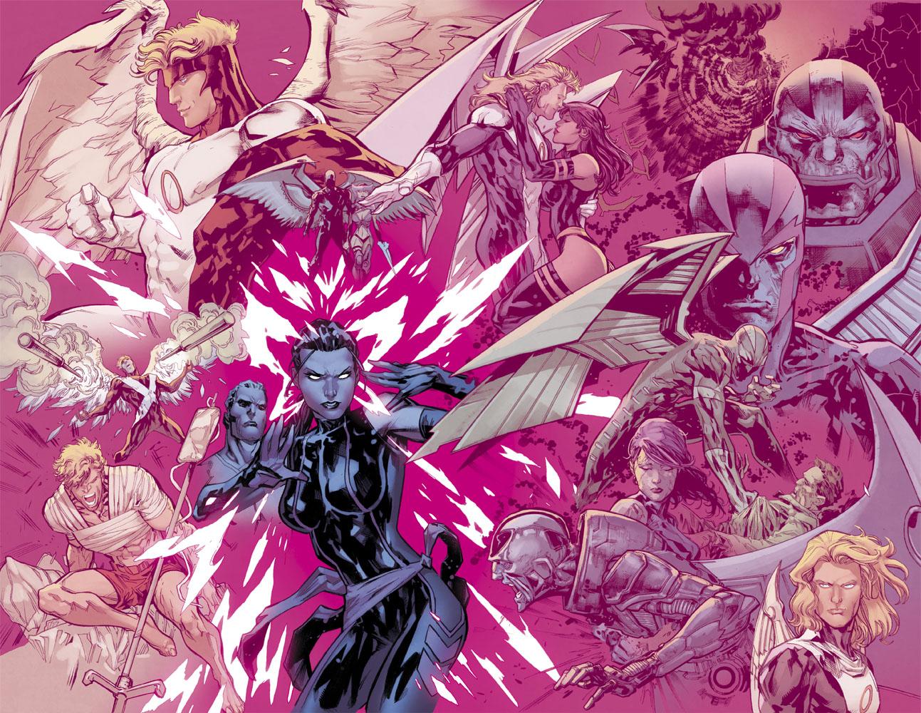 It's Uncanny X-Men #6!