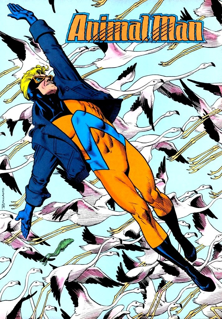 It's Animal Man!