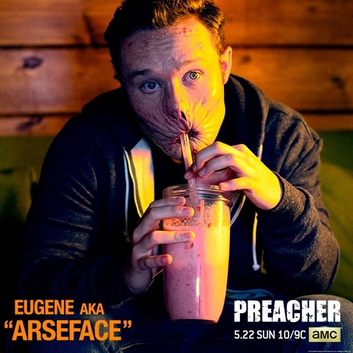 First Look at Arseface from AMC's Preacher