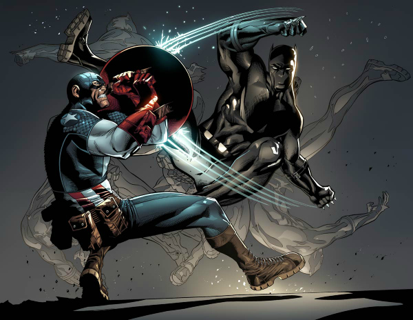 Black Panther's Civil War perspective!