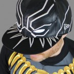 Black Panther Armor New Era 5950 Hat