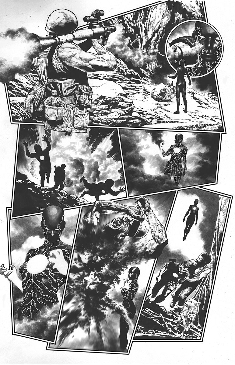BLOODSHOT REBORN #14 – Cover A by Tomas Giorello