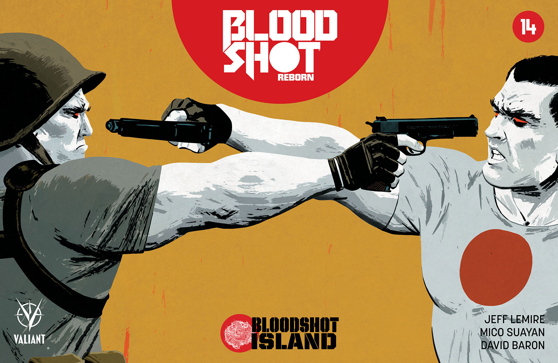BLOODSHOT REBORN #14 – Cover A by Tomas Giorello