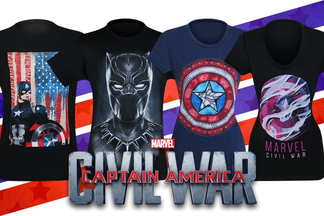 New Civil War T-Shirts Phase 3!