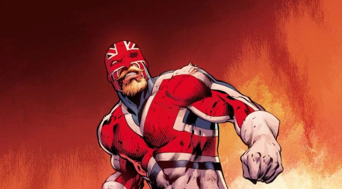 Captain Britain!