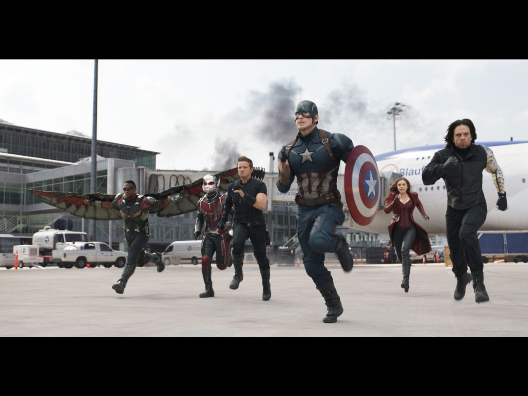 Team Cap attacks!