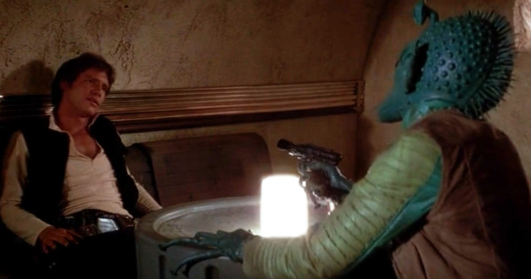 Han shot first! Now shut up about it!