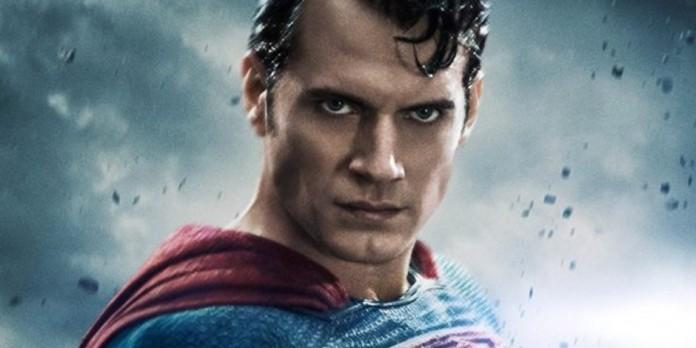 Henry Cavill as Superman!