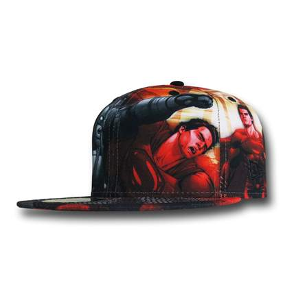 Batman Vs Superman Aquaman Symbol New Era 3930 Hat