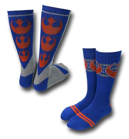 Star Wars Rebel Socks 2-Pack!