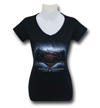 New Batman V Superman T-Shirts for Women!
