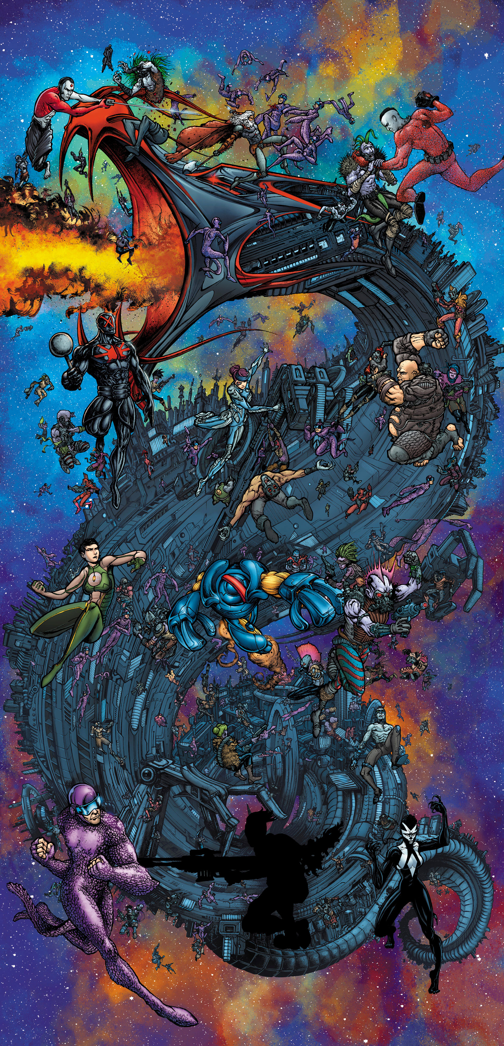 4001 A.D. Mega Cover– Art by Ryan Lee
