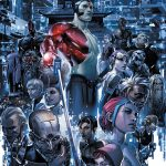 4001 A.D. #1 (of 4) – Cover A by Clayton Crain