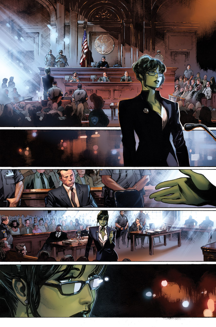 Your First Look at CIVIL WAR II #0! She-Hulk Leads the Charge!