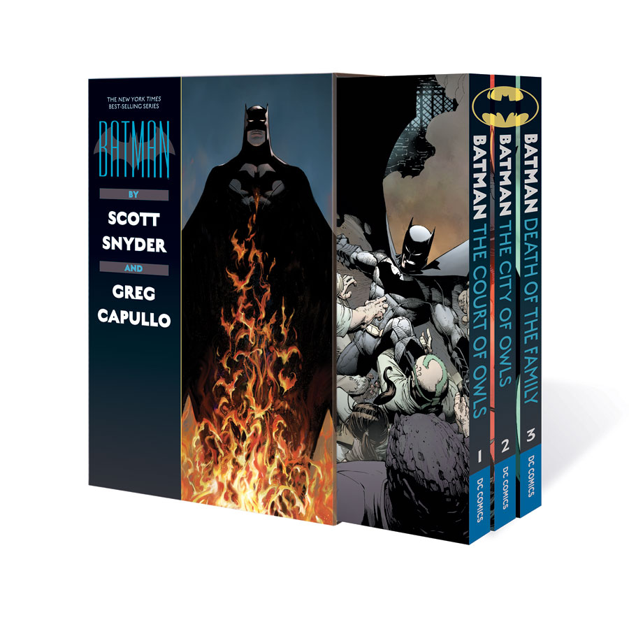 DC-Batman by Scott Snyder and Greg Capullo Box Set