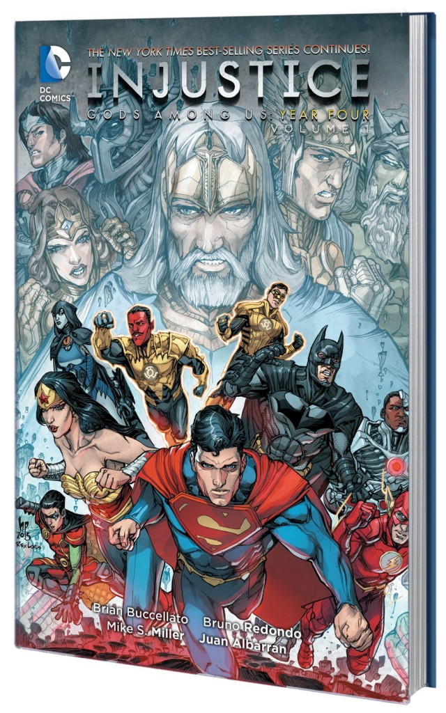 DC-INJUSTICE GODS AMONG US YEAR FOUR VOL 1 TP