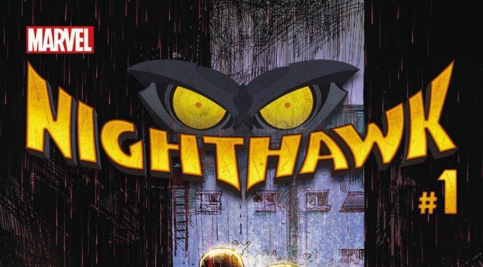 Your New Look at NIGHTHAWK #1!