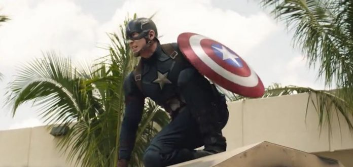 Captain America Leads the Charge in New AMAZING Civil War Clip!