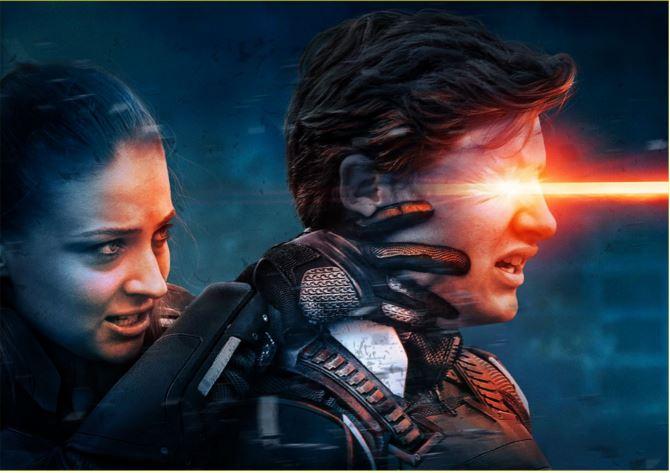 Jean Grey Aims Cyclops in X-Men: Apocalypse Image