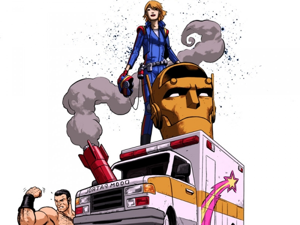 Doom Patrol from the Young Animal Imprint!
