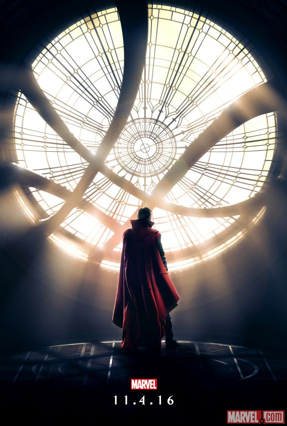 It's the First, Magically Satisfying Doctor Strange Movie Poster!