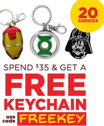 Spend $35 and get a FREE KEYCHAIN!