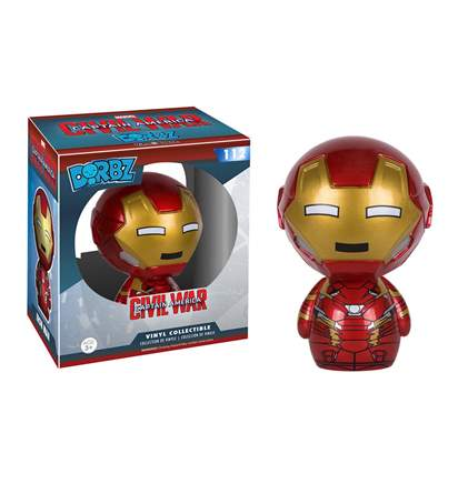 Check out the Civil War Cap and Iron Man Dorbz Figures!