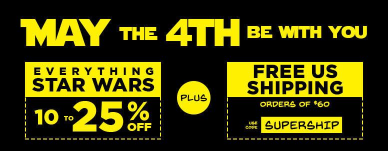 Celebrate May the 4th With this MASSIVE Star Wars Sale!