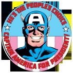 Cap for President Button