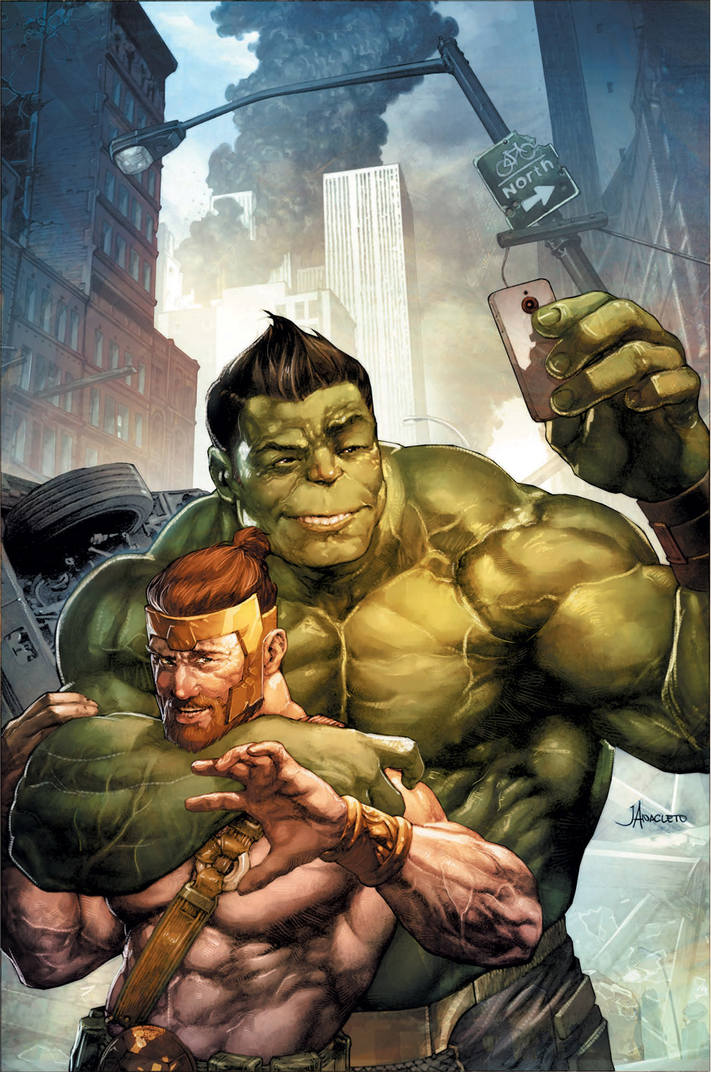 Variant Cover by JAY ANACLETO