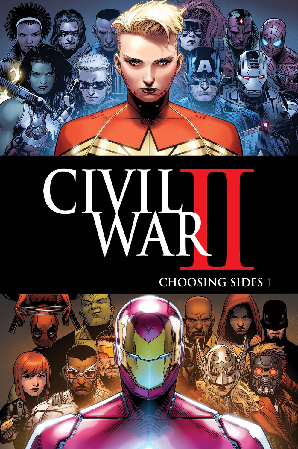 Your First Look at CIVIL WAR II: CHOOSING SIDES #1!
