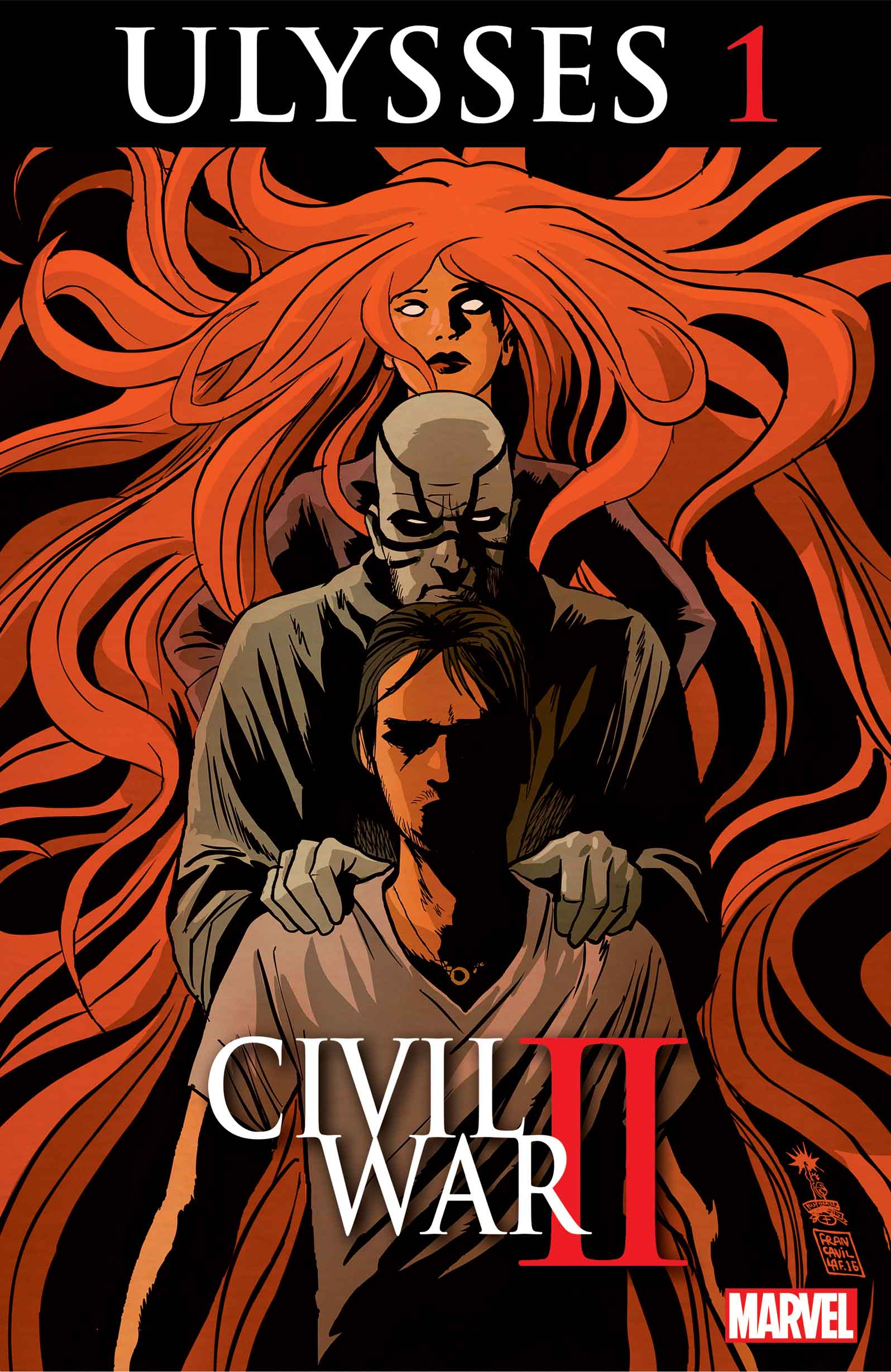 CIVIL WAR II: ULYSSES #1 – The Prequel to the Biggest Comic Event of the Year!