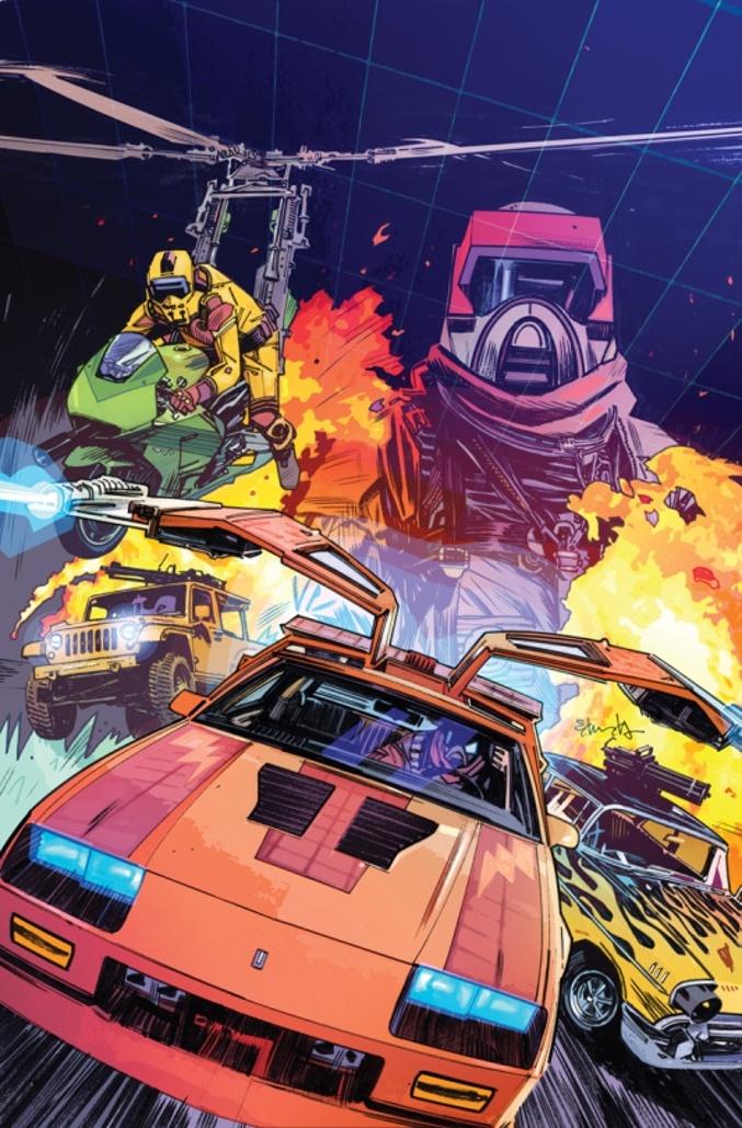IDW Debuts New M.A.S.K. Comic Series!