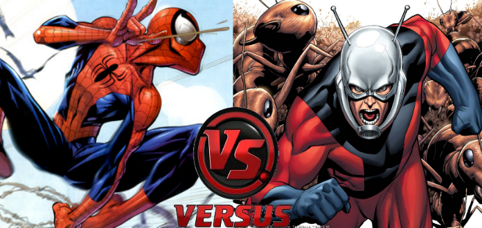 Civil War Tale of the Tape: Ant-Man vs. Spider-Man