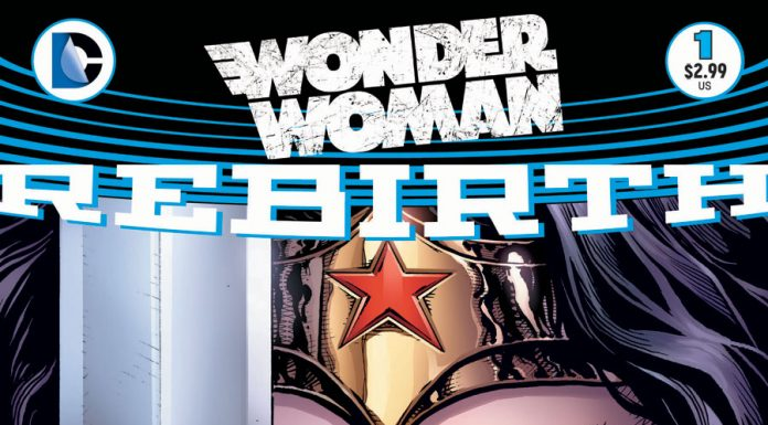Your Very First Look at Wonder Woman REBIRTH #1!
