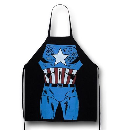 It's the Captain America Figure Cooking Apron!