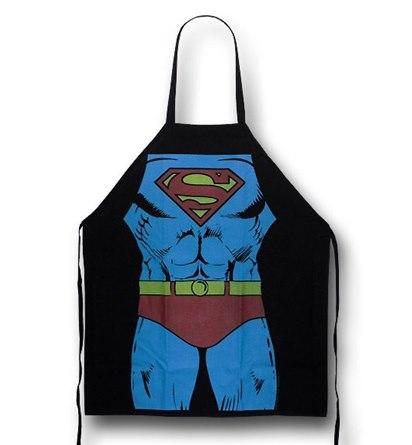 Superman Figure Cooking Apron