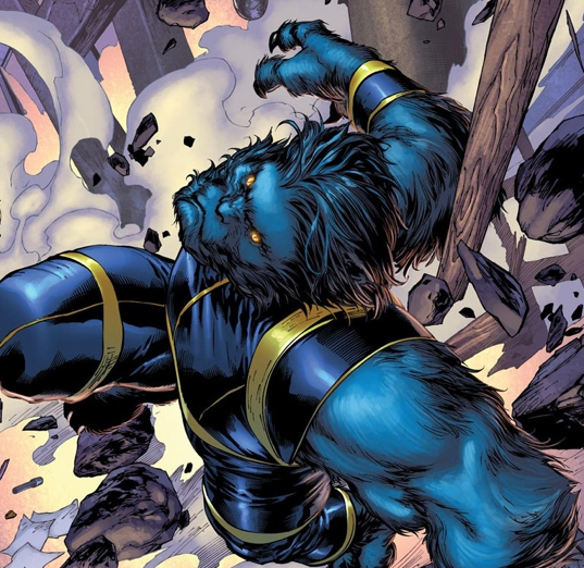 Beast Throws a Fit in New International X-Men Apocalypse Spot