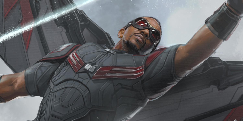 Civil War Tale of the Tape: Black Widow vs. Falcon