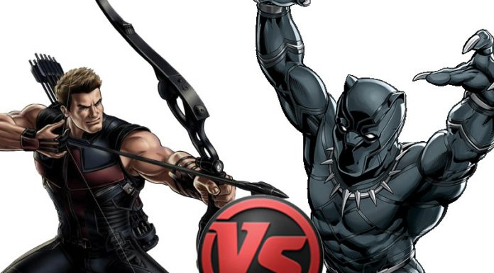 Civil War Tale of the Tape: Hawkeye vs. Black Panther