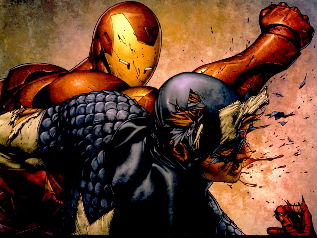 The Iron Man/Captain America Fight in Civil War: WTF???