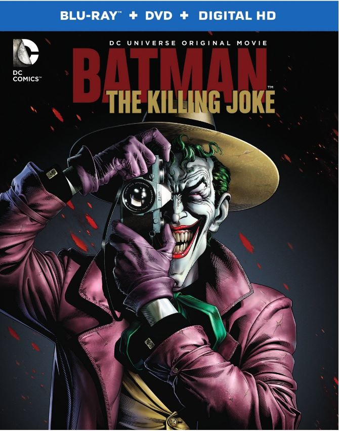 Batman: The Killing Joke Animated Film Just Received it's Release Date!