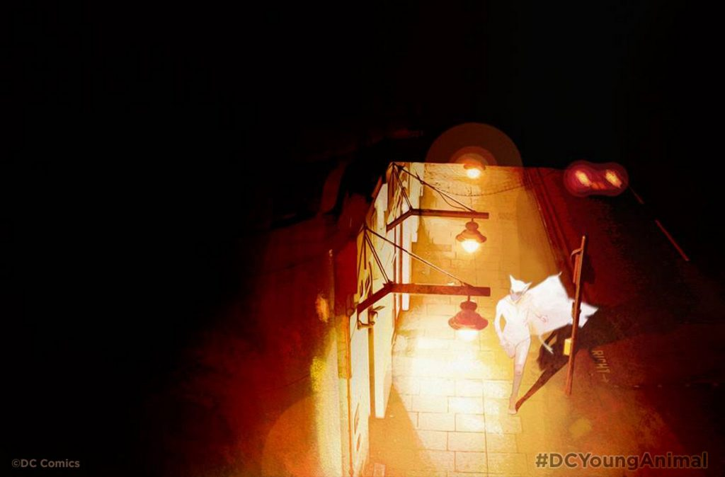 Young Animal's Gerard Way Talks Doom Patrol and More!