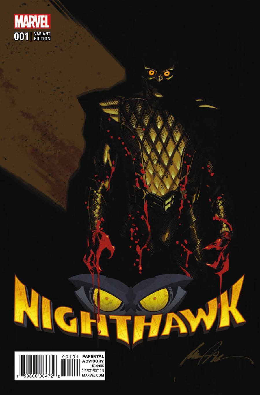 Marvel's Nighthawk #1 Review