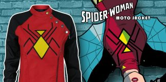 The Source Swag Spotlight: Spider-Woman Moto Women's Jacket