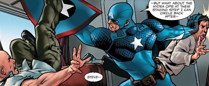 Chris Evans Responds to Shocking Twist in Steve Rogers: Captain America #1