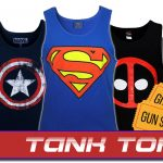 Dress Like a Man with Our Best-Selling Superhero Tank Tops!