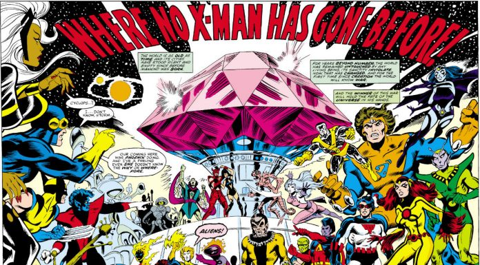 What's Next for the X-Men? Outer Space (maybe)!